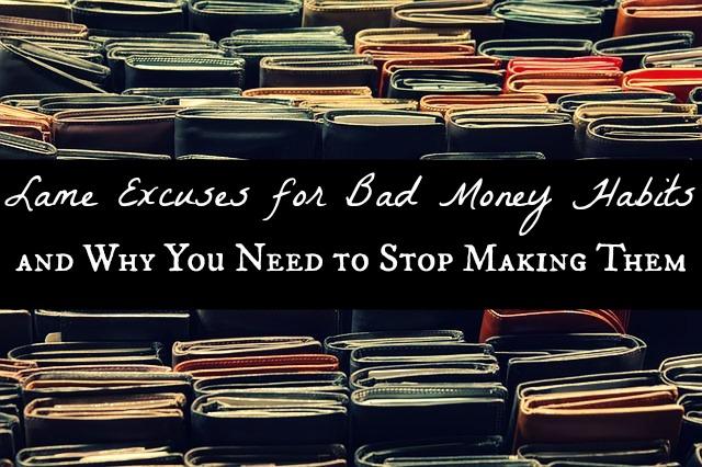 bad money habits image