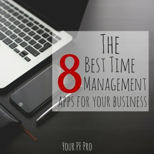 Looking to make yourself more efficient? Check out these 8 best time management apps for business owners!