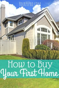 Buying a first home can be stressful and time consuming. However, there are ways to make the process easier! Here's how you can buy your first home.
