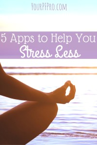 Need to stress less but don't know how? Pick up your phone - yes, your phone - and download these apps designed to help you stress less and live better.