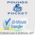 Pound to Pocket cash day loans