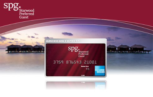 My Latest Credit Card The Amex Starwood Preferred Guest