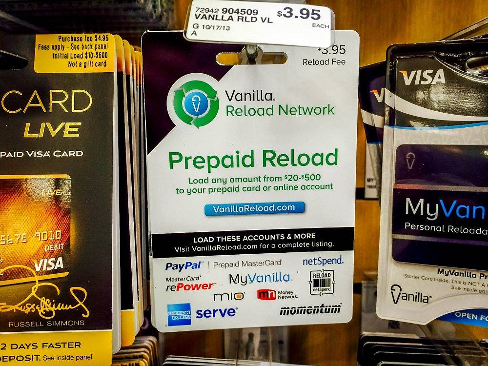 Using Vanilla Reloads to Meet Credit Card Spend Requirements