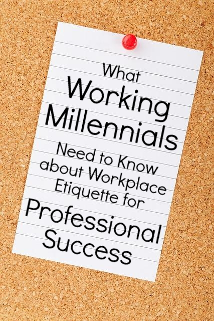 What Working Millennials Need to Know for Professional Success