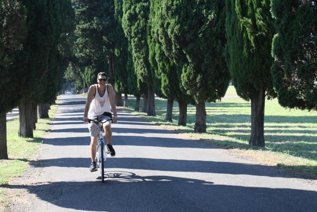 Ancient Appian Way Bike Ride