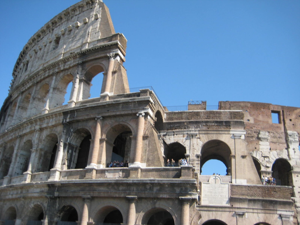Honeymoon Trip Report Free Flights to Rome on American Airlines