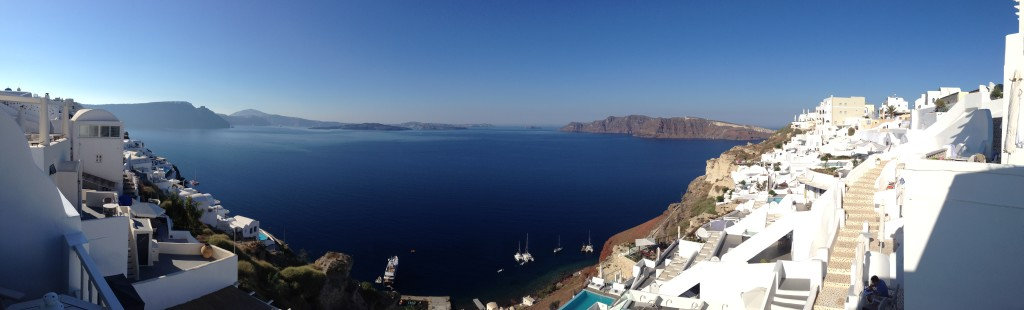 The Caldera View from the Balcony