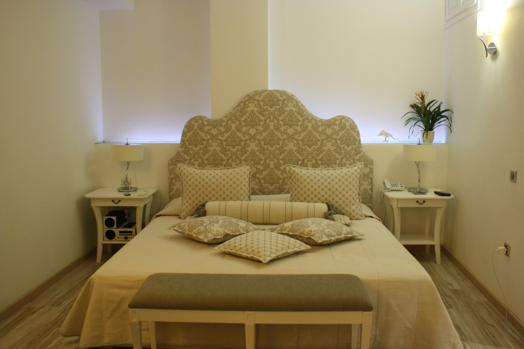 The Executive Suite Bedroom at Delfini Villas
