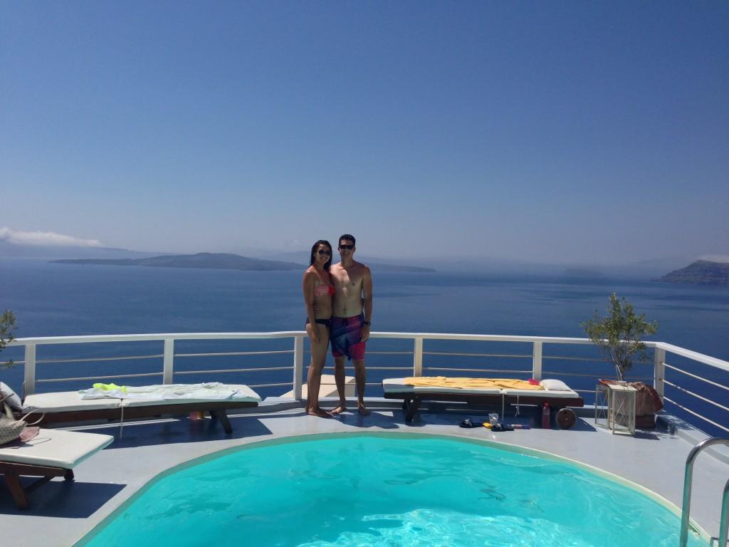 The Pool at Delfini Villas