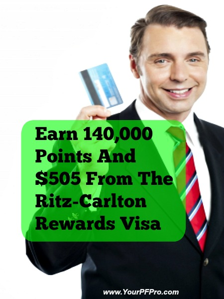 Earn 140,000 Points And $505 From The Ritz-Carlton Rewards Visa