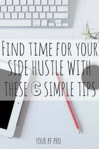 Is your side hustle growing and beginning to take up more of your time? If you're a side hustler with a full-time job, it can be hard to find extra time to work on your business. Here's how - without losing your mind!