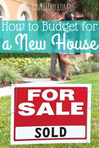 Want to buy a new house but don't know how you can afford it? Here's how to set up your budget for a new house.