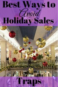 Avoid Holiday Sales Traps