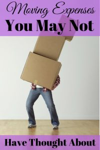 Moving Expenses You May Not Have Thought About