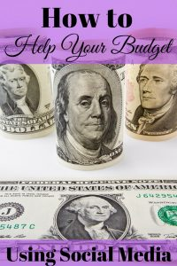 Social Media has other uses besides just catching up on news from friends or watching crazy animal videos. For example, you can help your budget using social media.