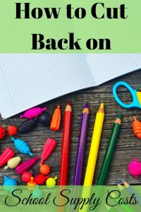 Paying for school supplies can be hard on your budget. Fortunately there are ways to cut back on school supply costs so they don't destroy your budget.