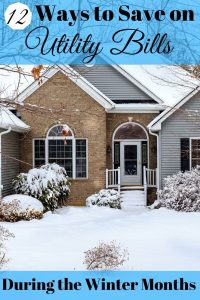Are high utility bills getting you down? Here are a dozen ways to save on utility bills during the winter months.