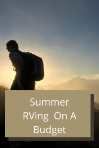 Are you wanting to take a vacation to redeem summer 2020? Take a look at these ideas to keep you on budget and distant while RVing.