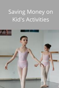 Saving Money on Kid's Activities